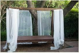 Mosquito Netting For Patio Diy Swinging Outdoor Bed Hometalk
