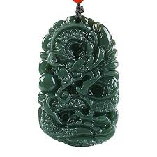 dragon jade necklace pendant images C1lint7785631 pure natural hand carved qing jade dragon necklace jpg
