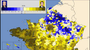 Presidential Election Map by 4k Hd French Presidential Election Maps Of The Second Round