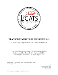 Draft Central Coast Regional Transport Strategy Lcats Home
