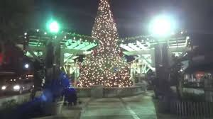 russian in usa christmas tree in winter garden youtube