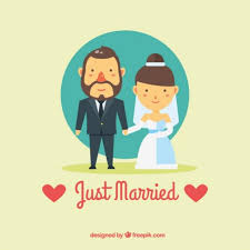 just married cards free vector just married card 26118 my graphic hunt