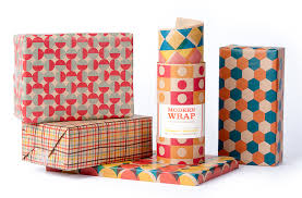 modern christmas wrapping paper mid century modern