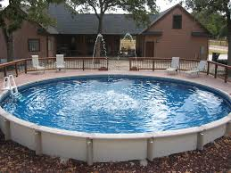large round above ground pool wilson county ground pools inside
