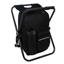 Backpack Cooler Beach Chair Wholesaling Backpack Cooler Fishing Chair Black Fishing Stool Made