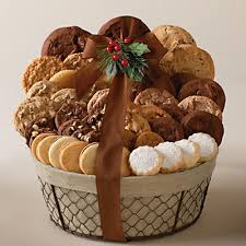 cookie gift baskets harry david cookie basket via johnson she wears many hats
