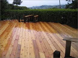 types of wood decking