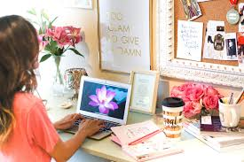 workspace inspiration dawn p darnell office inspiration 6 tips to chic workspace
