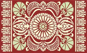 Pattern Ottoman Traditional Pattern Ottoman Stencil Design From Stencil Kingdom