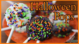 how to make chocolate halloween oreo pops youtube