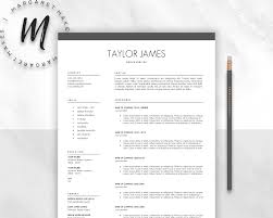 Resume Sample Hk by Minimalist Resume Template Resume Templates Creative Market