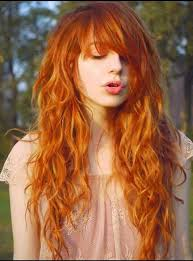 hair styliest eve stylish eve pretty orange hair style 2014 15 for elegant girls 1
