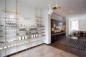 interior design news upscale cosmetic boutique design in brussels commercial interior