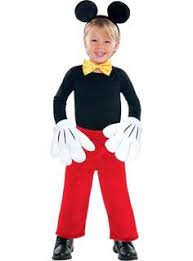 Mickey Minnie Mouse Halloween Costumes Toddlers Simple Easy Mickey Mouse Costume Toddler Blogging