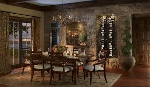 tuscan dining room table tuscan dining room with vinowall
