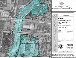 Franklin County Ohio Map by How To Read Flood Zone Maps Buildipedia