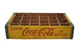 Six Flags Coca Cola Vintage Coca Cola Crate Chairish