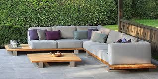 Modern Outdoor Sofa Wood Outdoor Sofa High Quality Design 2018 2019
