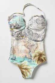 One Piece Map Global Map One Piece Swimsuit Really Cool If The Top Wasn U0027t