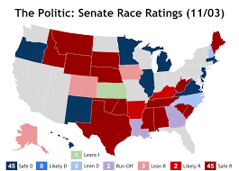 2016 Senate Map Projections by Jp Meredith The Politic