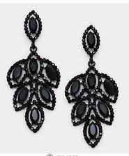 black chandelier earrings chandelier fashion earrings ebay