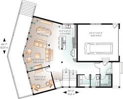 house plans with rear view contemporary plan with great rear view 21855dr architectural