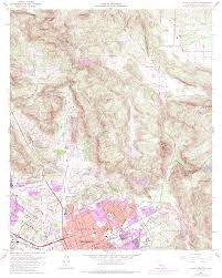Topical Map Of United States by Topographic Maps Of San Diego County California