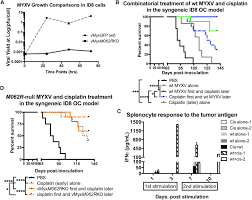myxoma virus optimizes cisplatin for the treatment of ovarian