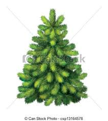 realistic christmas trees christmas tree clipart realistic pencil and in color christmas