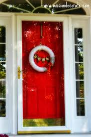 newly painted front door ruby red by benjamin moore diy