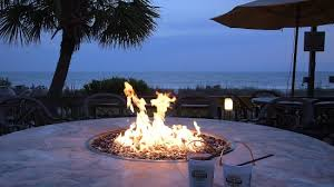 Beach Fire Pit by Oceanfront Fire Pit Picture Of Caribbean Resort And Villas