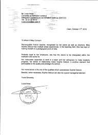 recommendation cover letter 28 images sle of a simple