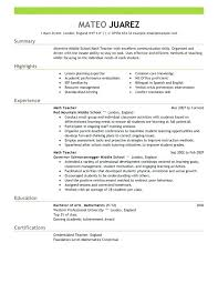 bilingual resume sample create this bilingual teacher resume