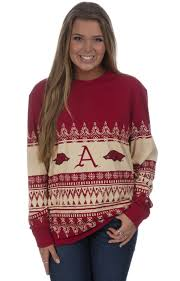 s sweater sale sale arkansas collegiate sweater