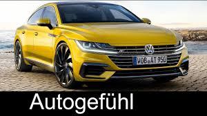 new volkswagen arteon volkswagen arteon all new vw cc successor preview exterior
