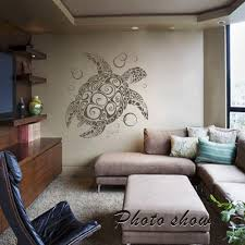 compare prices on sea turtle wall mural online shopping buy low sea turtle ocean wall decal animal natural vinyl removable baby room mural decor 22inx24in china