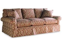 drexel drexel heritage upholstery natalie sofa w skirt baer u0027s