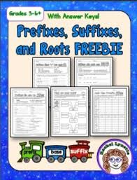 prefixes suffixes and roots by rachel lynette tpt