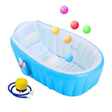 travel bathtub baby amazon com biubee baby inflatable bathtub air bath basin with