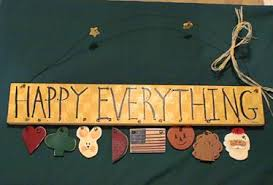 happy everything sign brushworks