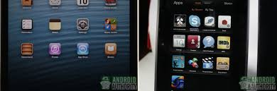 is kindle android apple mini vs kindle hd