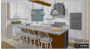 San Diego Kitchen Design Neil Alan Designs 3d Rendering Services