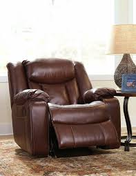 Ashley Oversized Recliner Ashley Rouge Rocker Recliner Review Ludden Cocoa Rocker