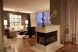 awesome double sided fireplace design ideas home decoration ideas