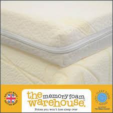 King Size Bed Topper Memory Foam Warehouse 6ft Super King Size 7 5cm 3