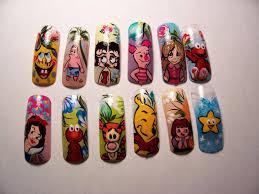 cartoons nail art archive style nails magazine