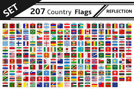 World Map Country Flags China Topographic Map Emaps World