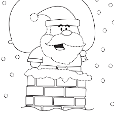 santa colouring sheet cleverpatch