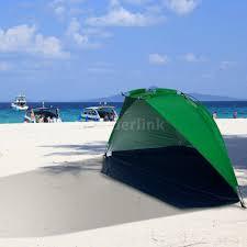 Beach Sun Umbrella Portable Beach Sun Shade Canopy Tent Outdoor Camping Picnic Family