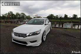 2014 honda accord led wheel offset 2014 honda accord slightly aggressive dropped 1 3